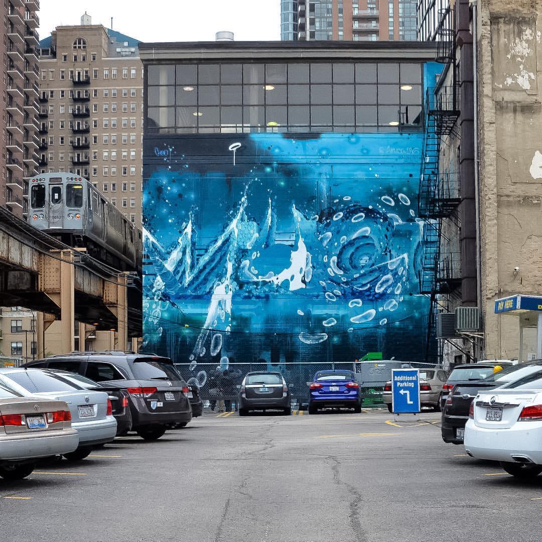 Amuse 126 for Chicago Truborn and Wabash Arts Corridor. Photo by Jeff Mancilla