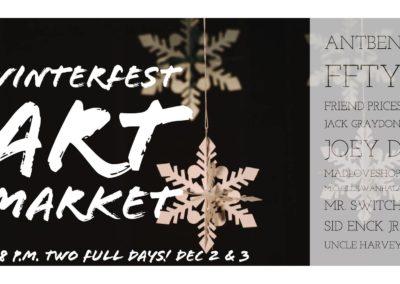 winterfest art market